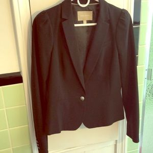 Black tailored women's jacket